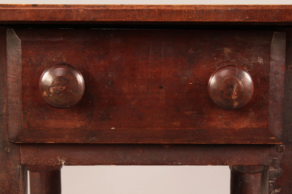 Lot 284: East TN One Drawer Work Table, orig. surface