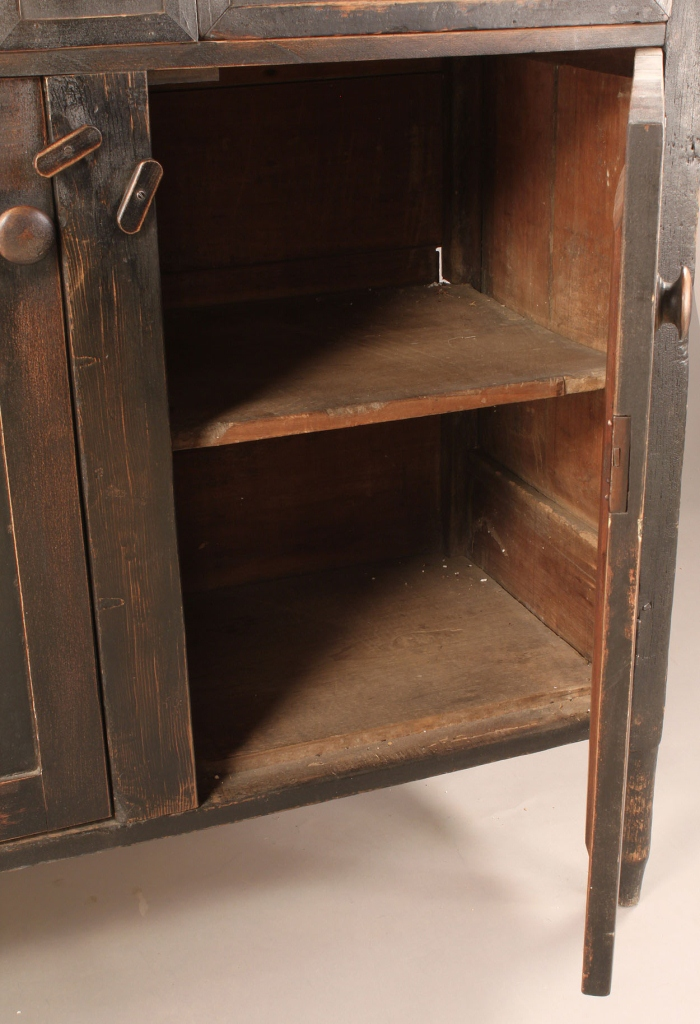 Lot 286: Southern walnut press or server