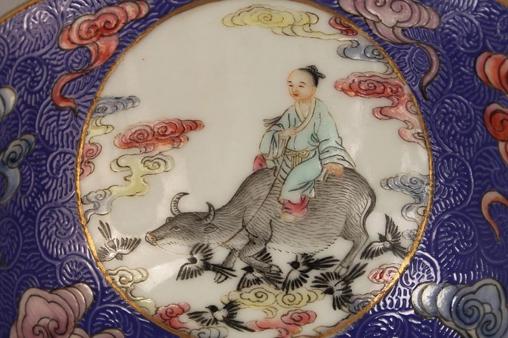 Lot 28: Pr. Chinese Porcelain Famille Rose Bowls