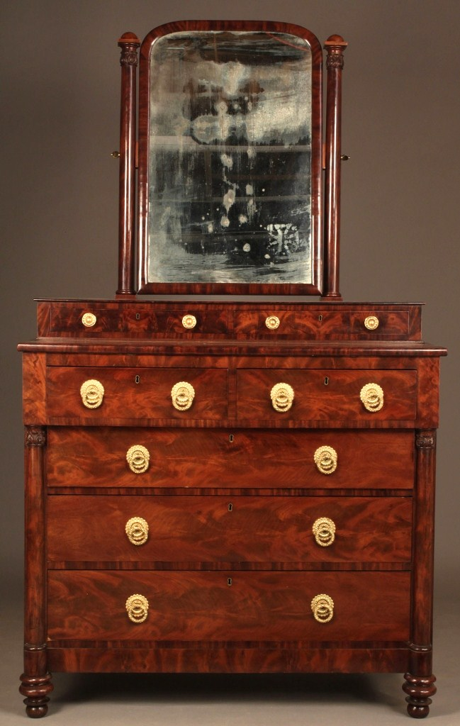 Lot 292: Classical Boston Dressing Bureau