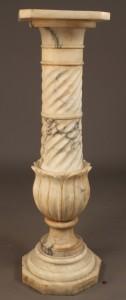 Lot 304: Victorian Marble Pedestal