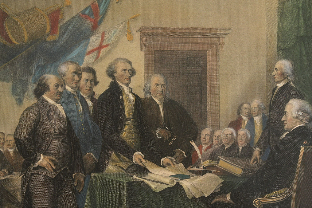 Lot 305 Declaration Of Independence Ormsby Engraving
