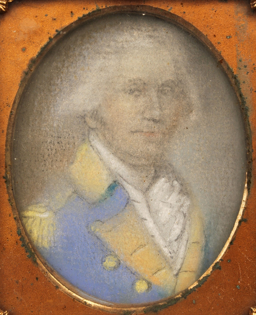 Lot 308: Portrait Miniature of George Washington
