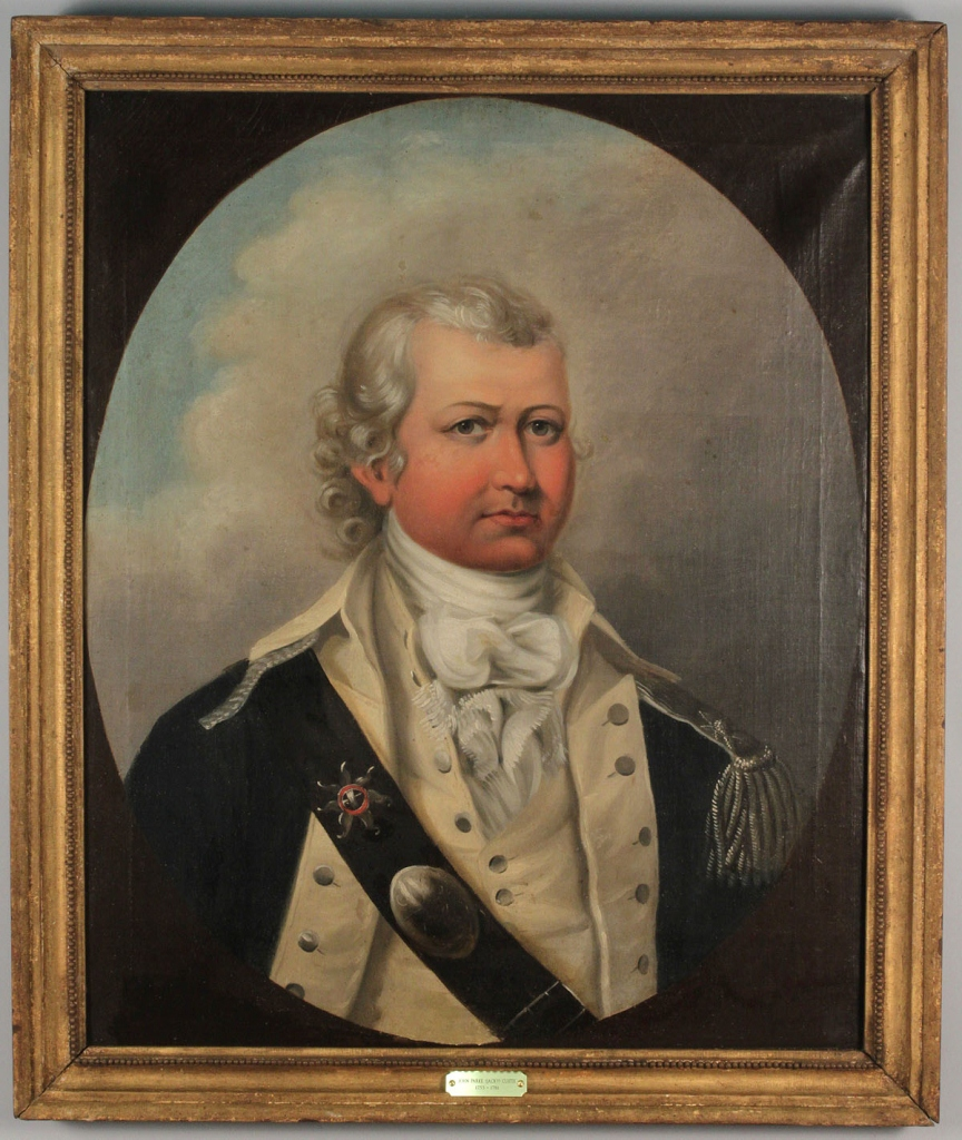 Lot 310: Portrait of Gentleman, Rev. War Era Uniform