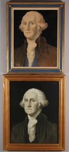 Lot 311: 2 George Washington Lithographs