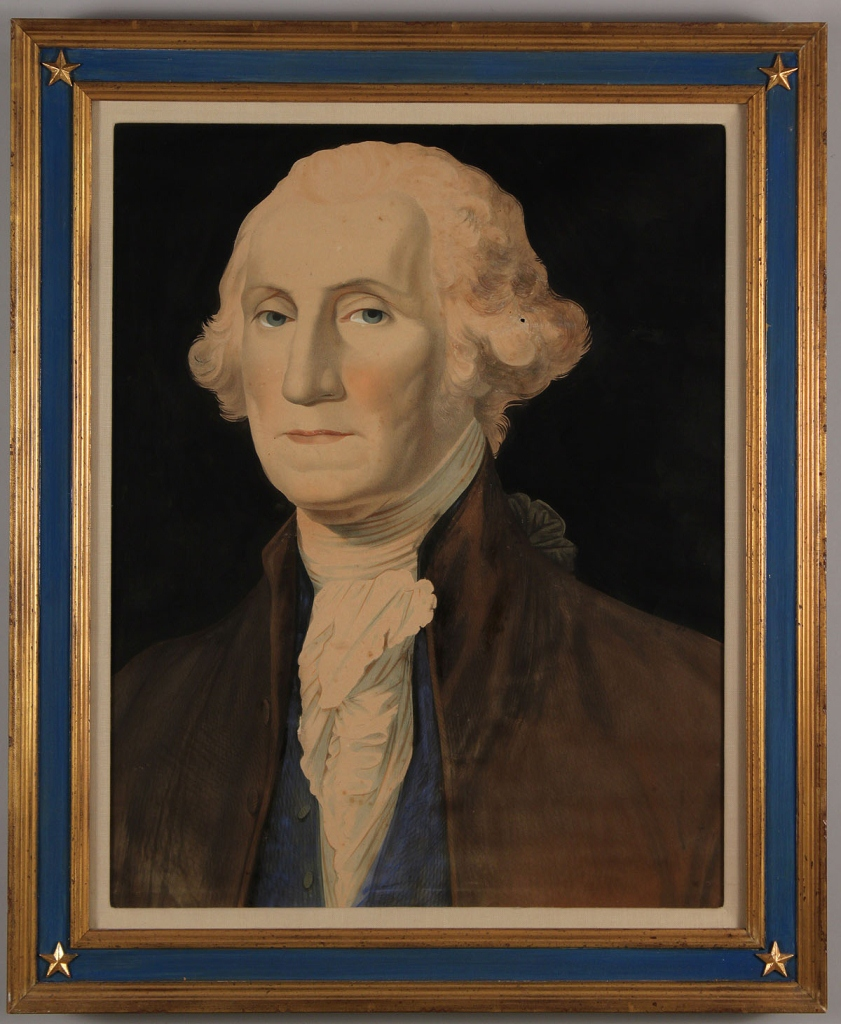 Lot 311: 2 George Washington Lithographs