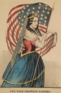 Lot 313: Kellogg Print, Star Spangled Banner