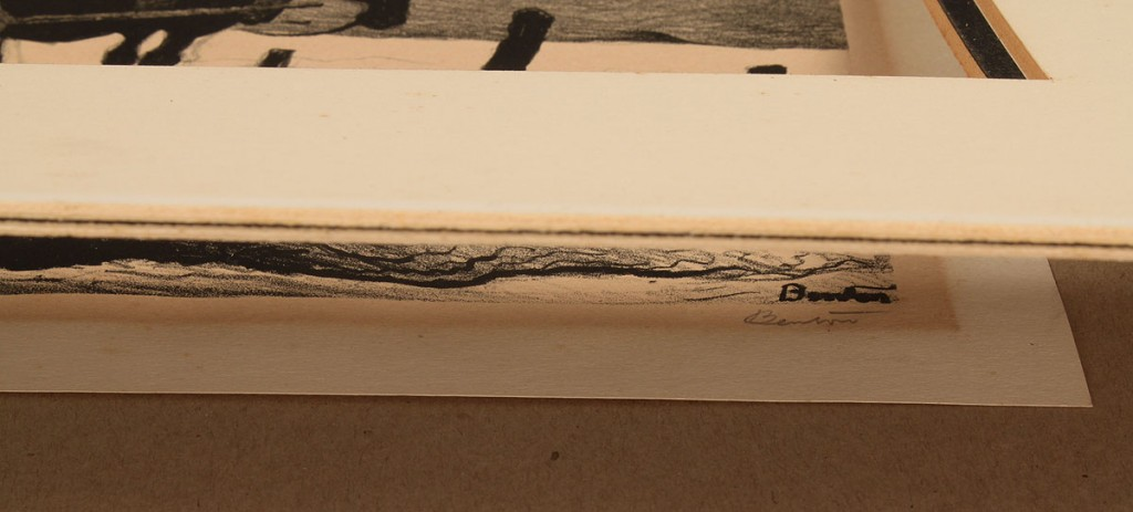 Lot 31: Lithograph, signed Thomas Hart Benton