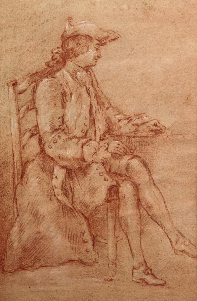 Lot 330: Manner of Cochin, Portrait of a Gentleman