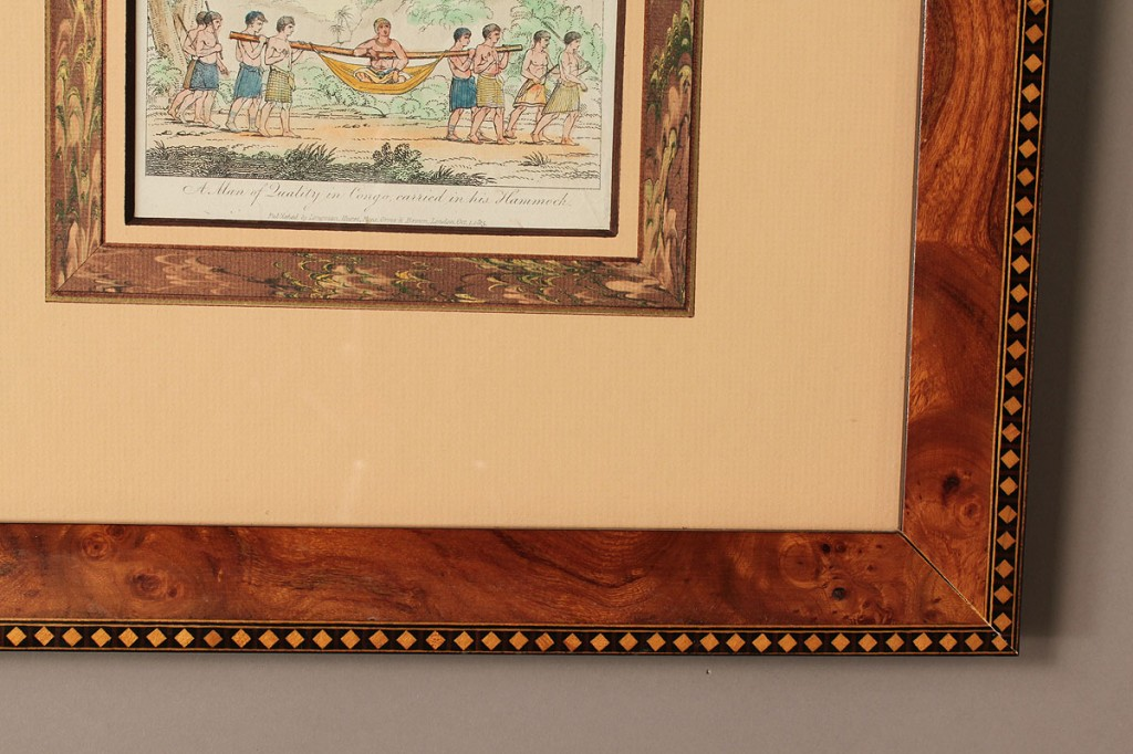Lot 353: Three 19th c. prints, Indian and African subjects