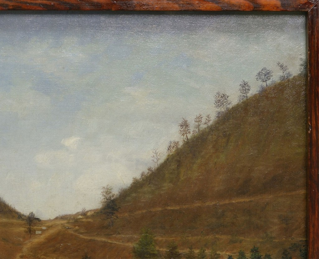 Lot 35: Southern Landscape, View of Cumberland Gap