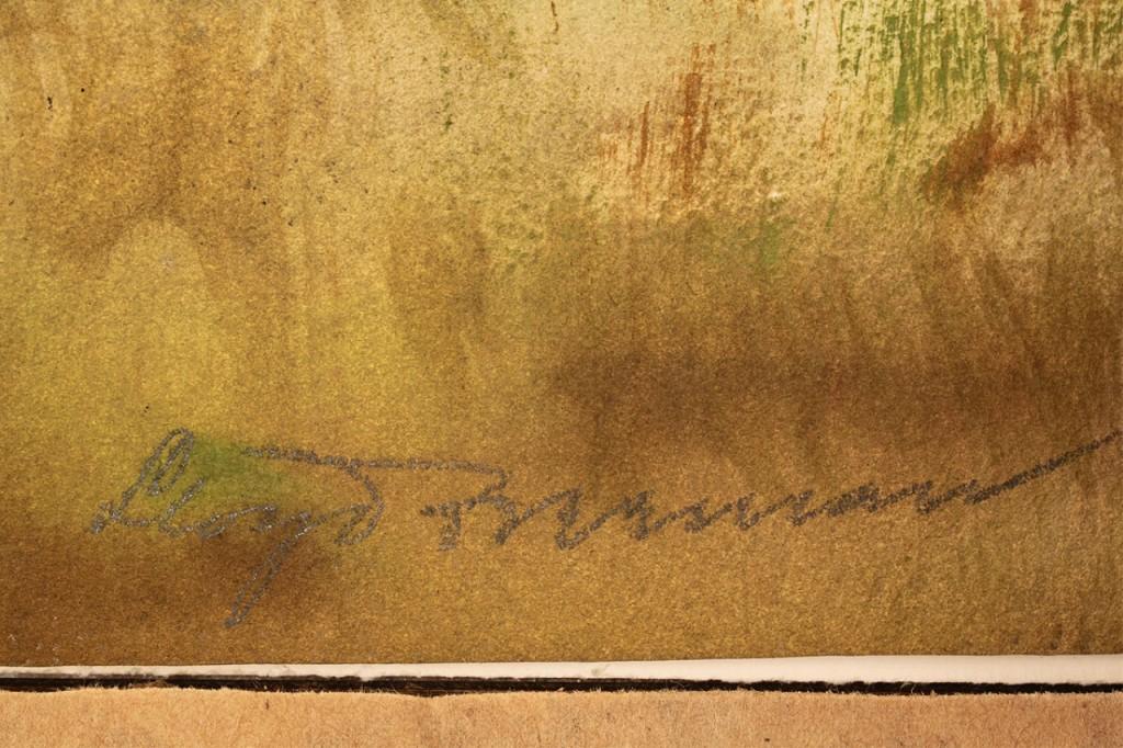 Lot 37: Lloyd Freeman watercolor, TN landscape