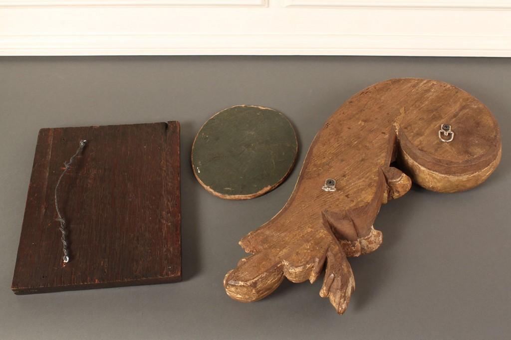 Lot 398: Five assorted antique decorative items
