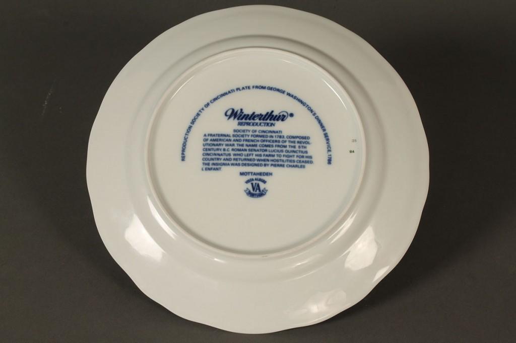 Lot 400: Mottahedeh Cincinnati Service, 32 pcs