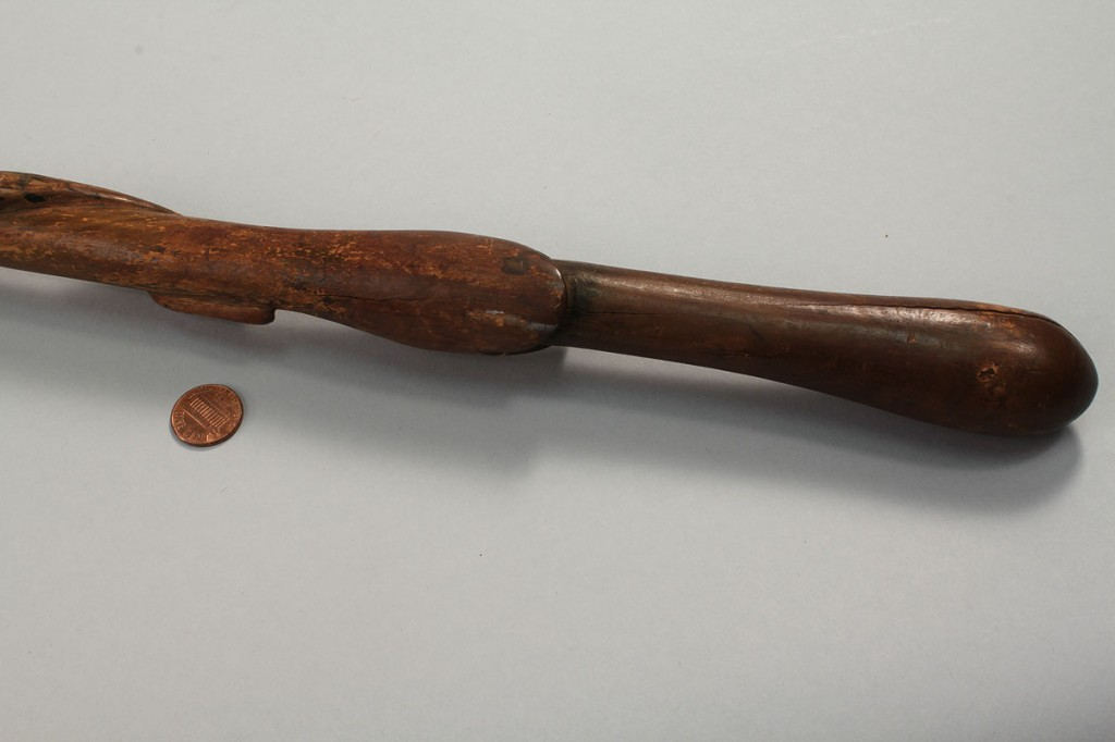 Lot 424: East TN Carved Cane w/ Snakes