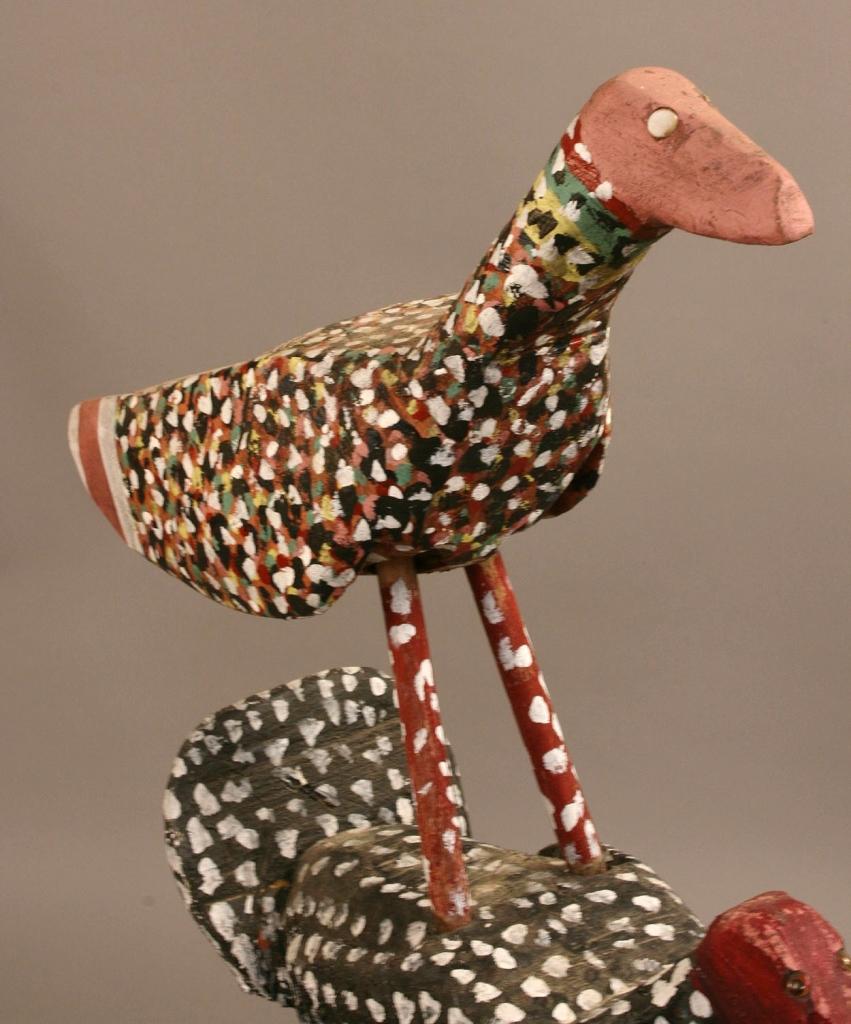Lot 435: Homer Green sculpture, Two Birds