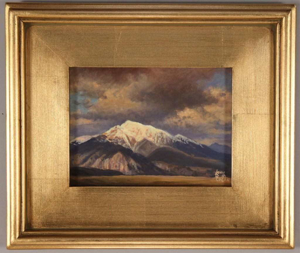 Lot 445: John D. Cogan mountain landscape