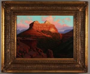Lot 446: John Cox o/c Mountain Landscape