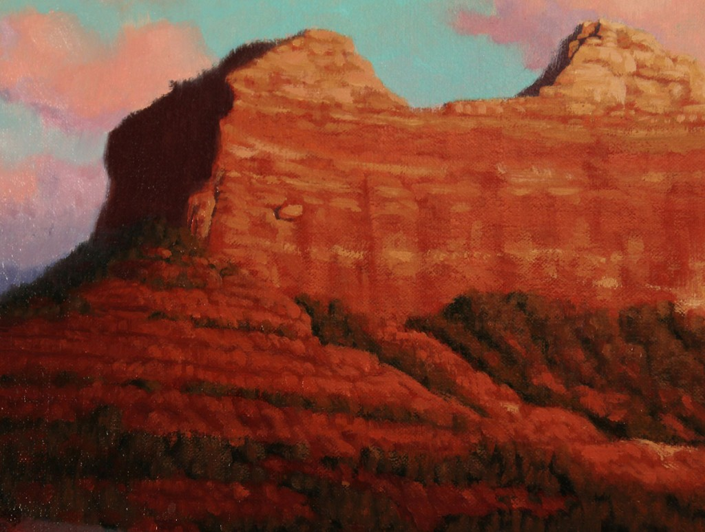 Lot 446: John Cox o/c Mountain Landscape
