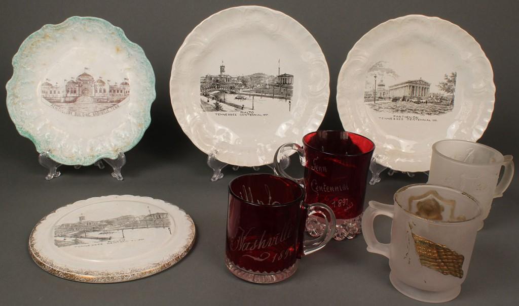 Lot 456: Lot of 8 TN Centennial Souvenir Items