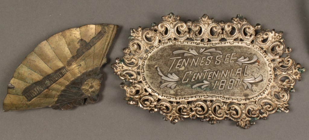 Lot 464: 8 Tennessee Centennial Exposition Souvenirs