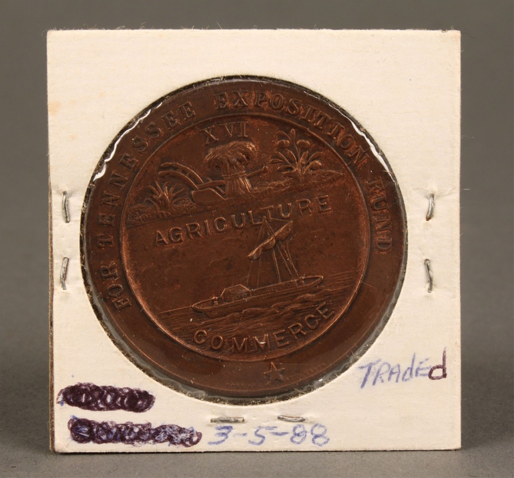 Lot 468: Tennessee Pan Pacific Exposition Medal, 1915