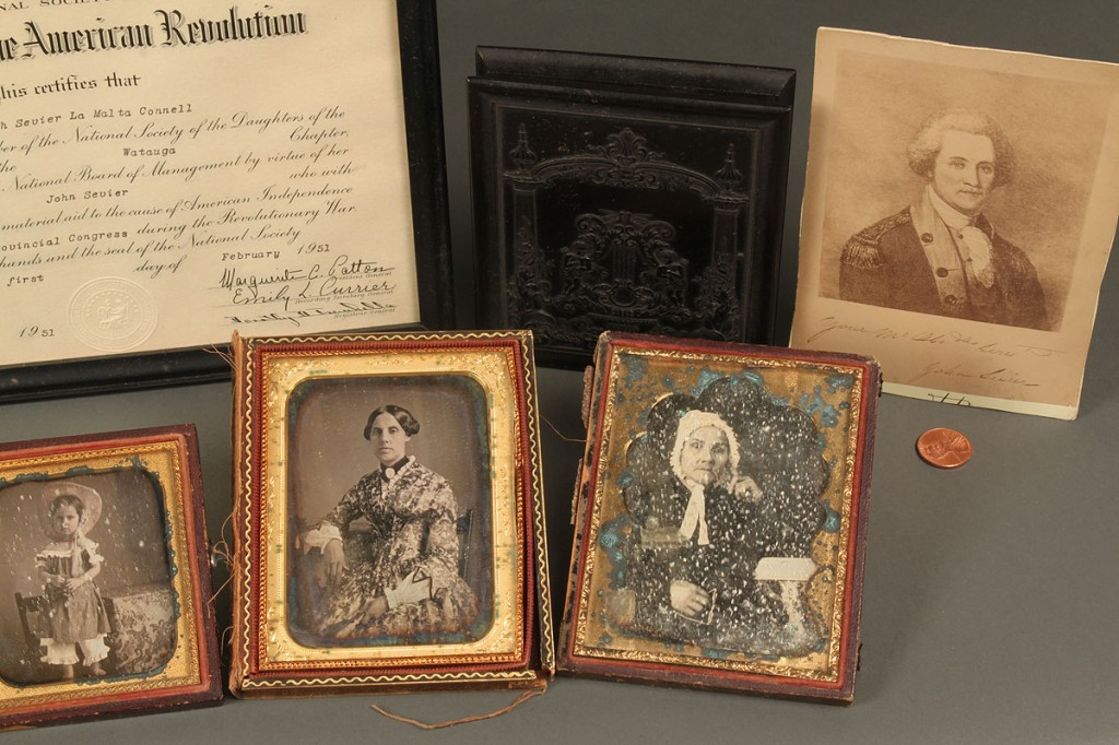 Lot 472: Photographic archive, Sevier Family