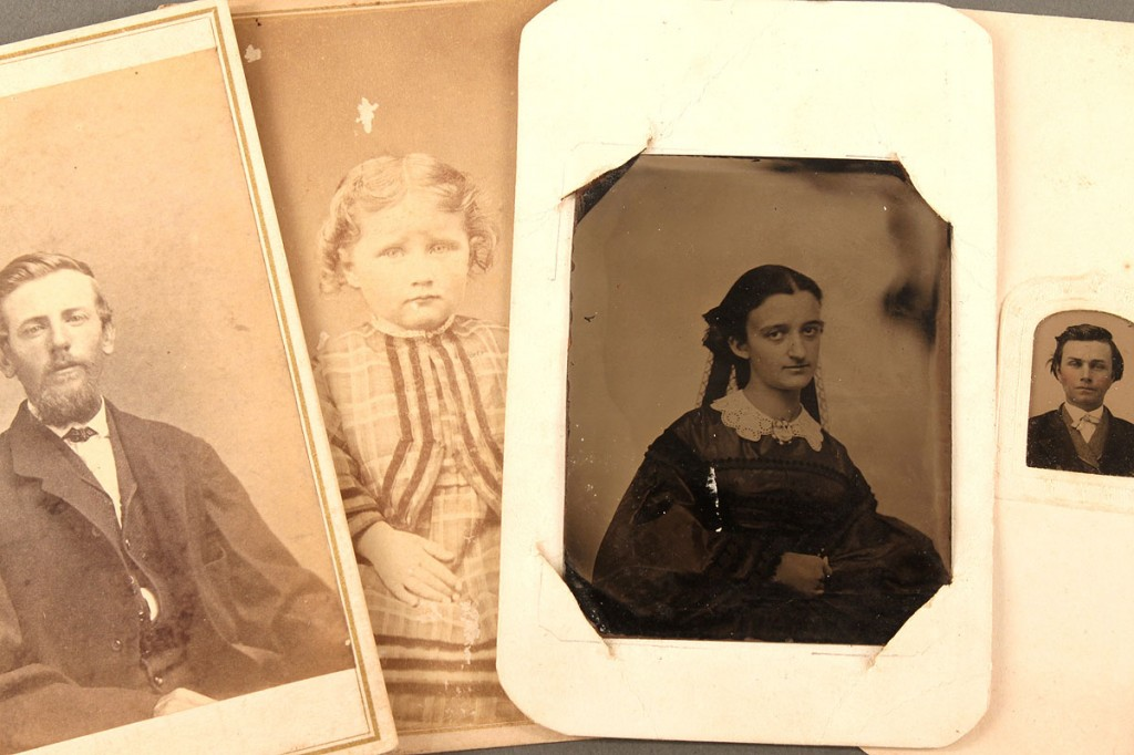 Lot 473: 16 East Tenn. CDV Photographs &  Tintypes