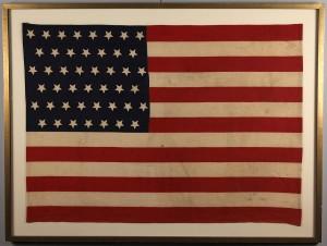 Lot 475: 45 Star Parade Flag
