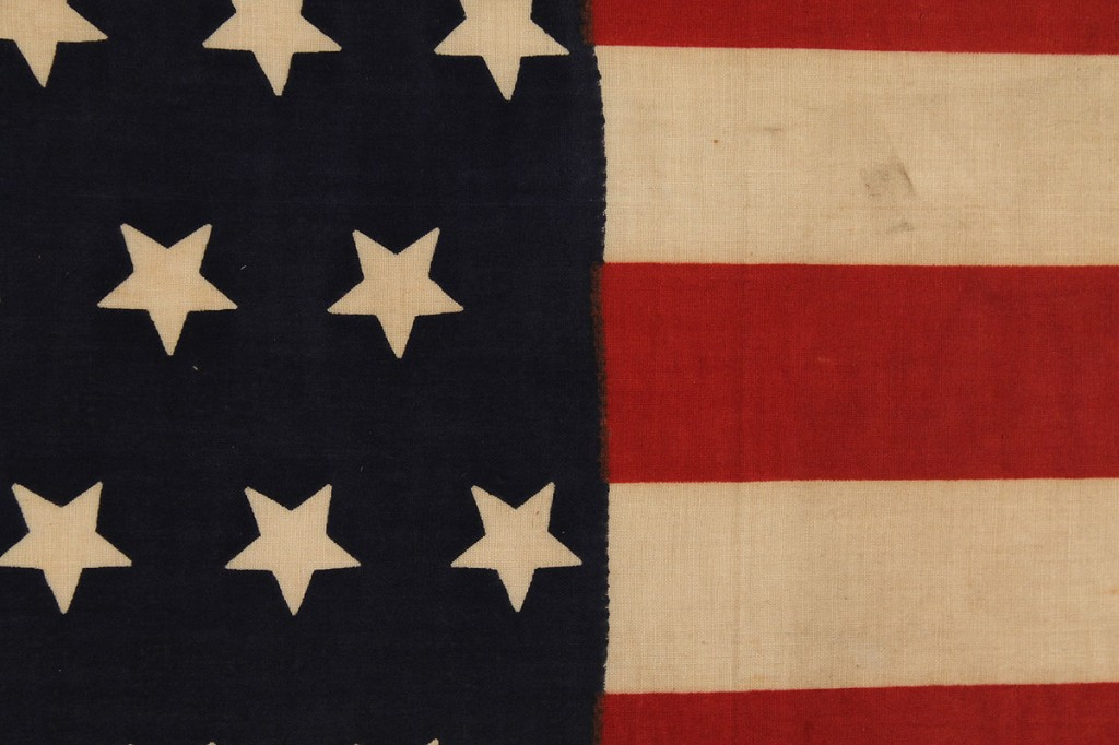 Lot 475: 45 Star Parade Flag