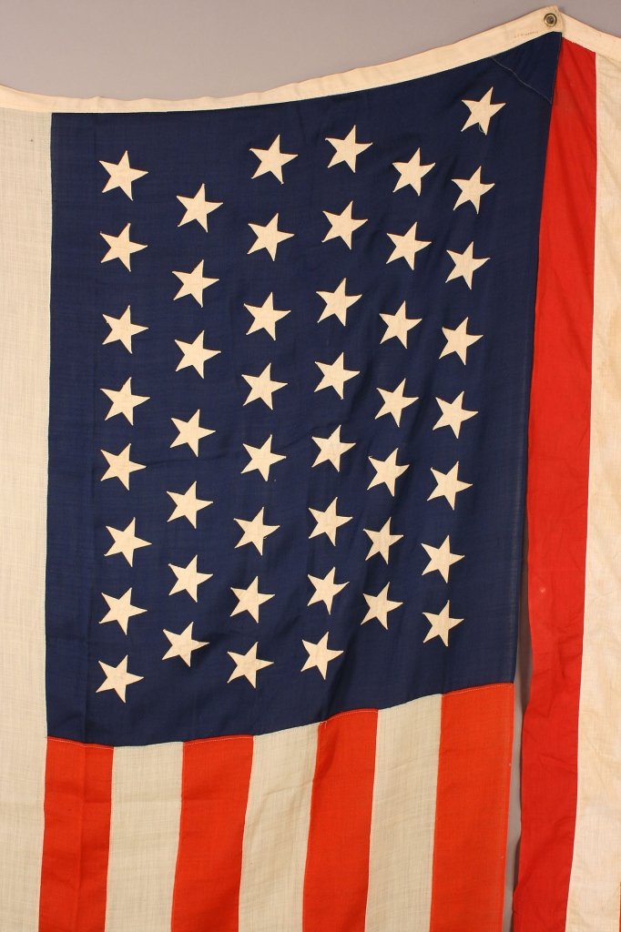 Lot 479: Lot of two 46 star American flags