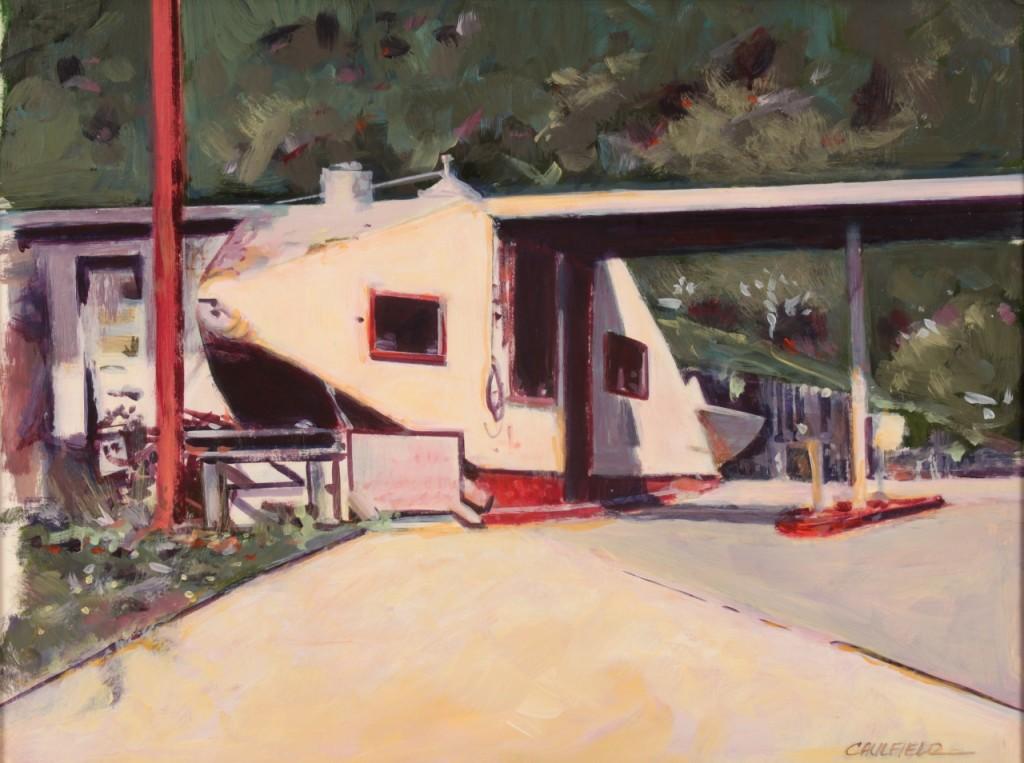 Lot 490: James Caulfield Oil on Board