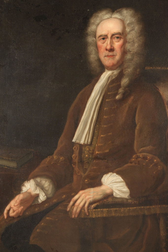 Lot 496: English School 18th c. Portrait of a Gentleman