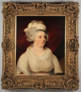 Lot 498: English School, 19th c. Portrait of Lady Campbell