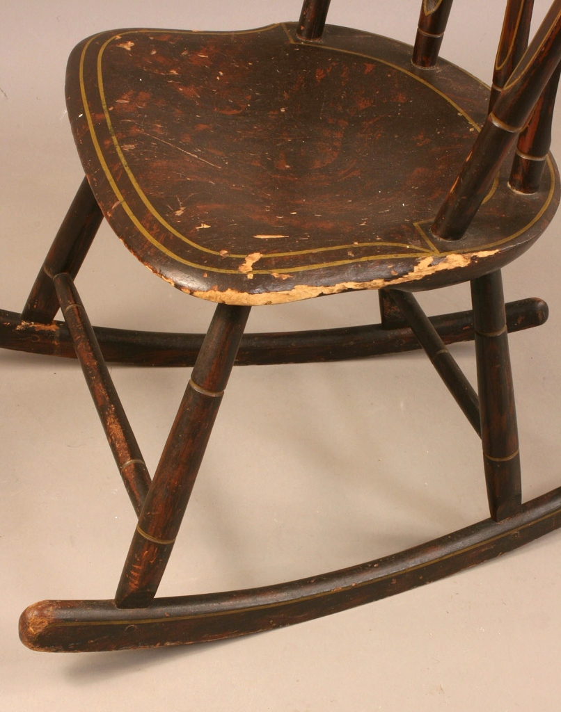 Lot 506: Lot of 2 New England Painted Rockers