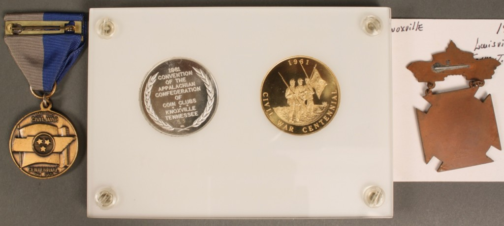 Lot 513: 3 Knoxville TN Related Commemorative Souvenirs