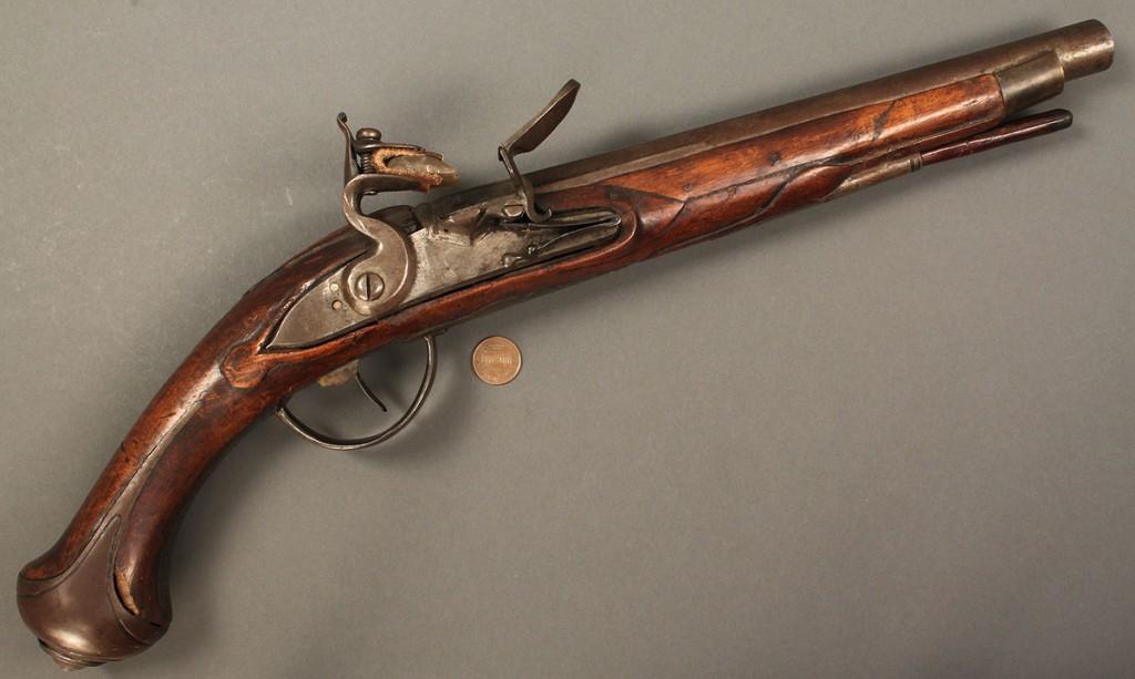 Lot 518: Continental horse pistol
