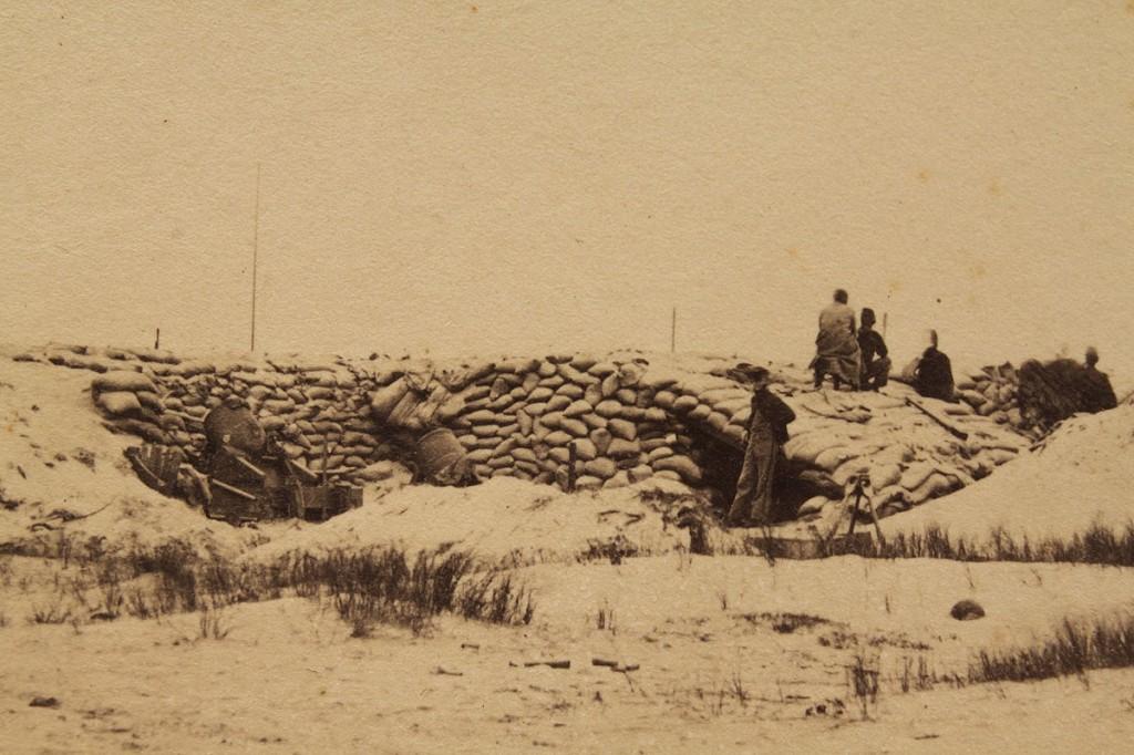 Lot 53: Civil War Albumen Print, South Carolina
