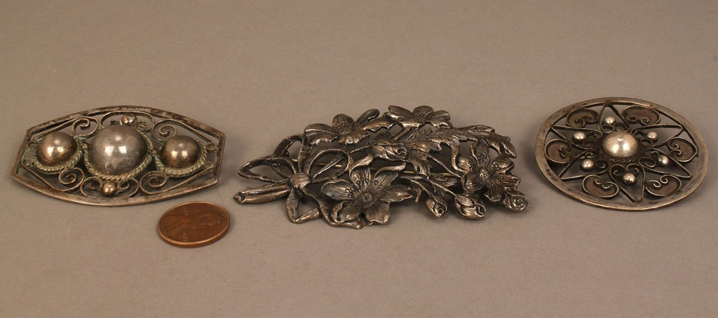 Lot 561: Sterling silver jewelry, 12 items total