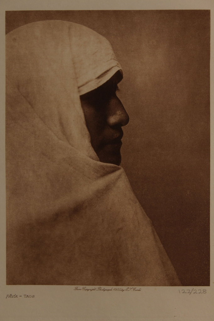 Lot 565: Triptych of photos after Edward Curtis