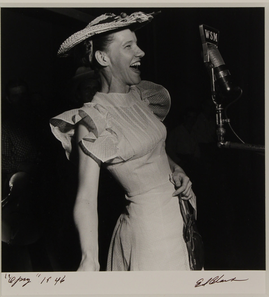 Lot 567: Ed Clark Photograph of Minnie Pearl