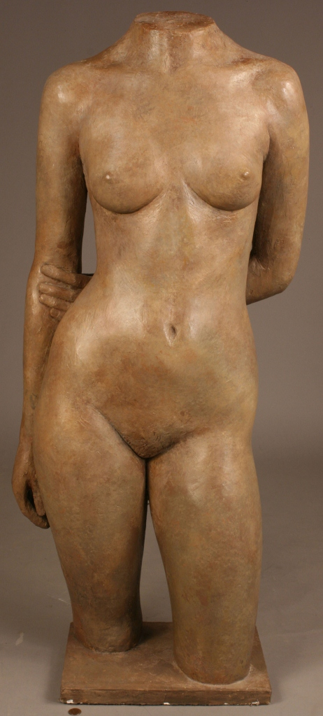 "Lot 570: Alan LeQuire, nude torso sculpture ""Barbara"""