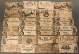 Lot 59: Grouping of TN/NC Obsolete Currency Notes, 27 pcs
