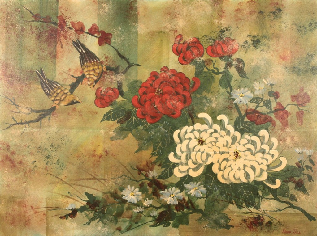 Lot 600: Thomas Pell Oil on Canvas