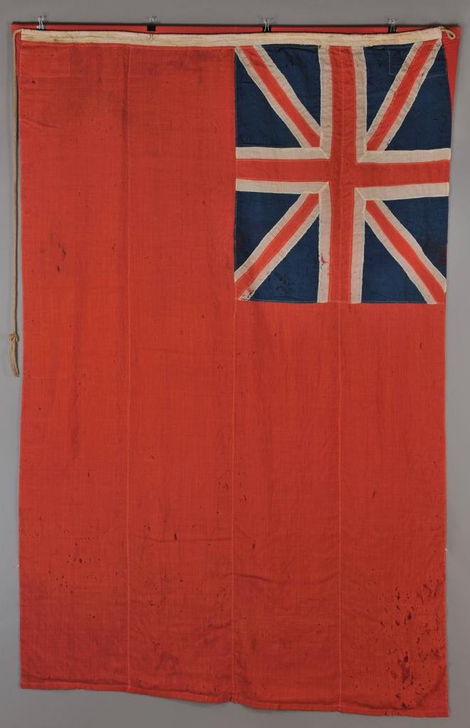 Lot 60: Civil War captured ensign flag, S.S. Jane