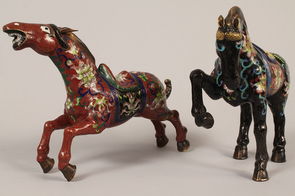 Lot 621: Three Chinese Decorative Items