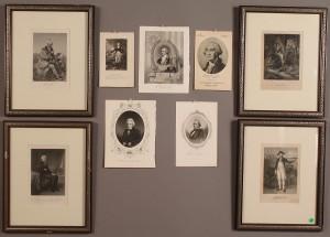 Lot 637: Ten American Political Prints, 19th century
