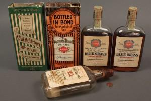 Lot 641: 4 Bottles KY Bourbon Whiskey, 1924-1934 sealed plu - Image 1