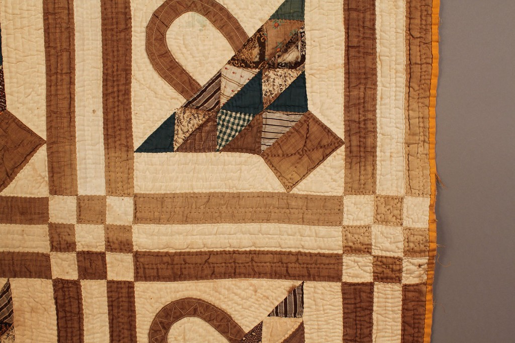Lot 676: Alabama Basket Quilt