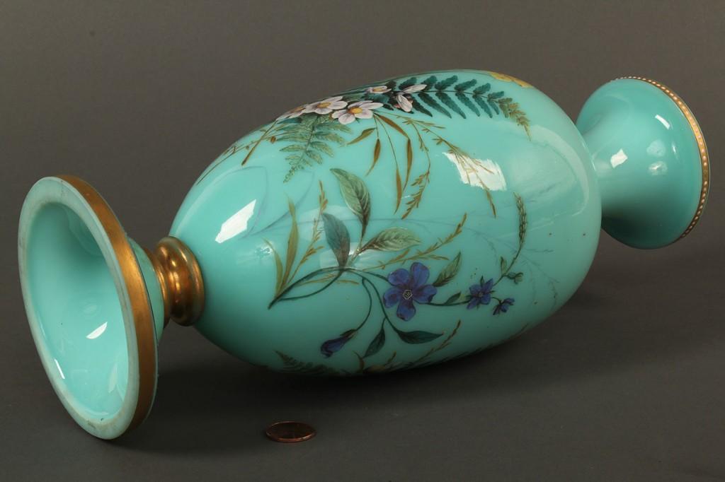 Lot 693: Lot of 3 European Glass Vases